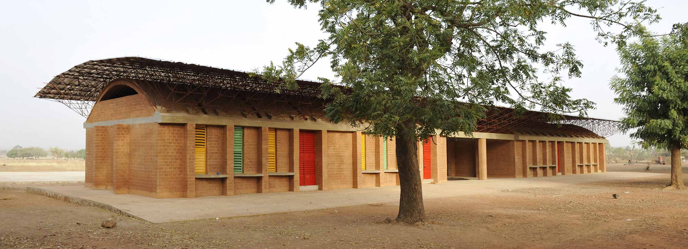 K r architecture school extension gando burkina faso for Architecture africaine